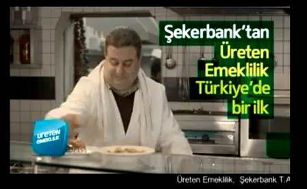 Fısıldayarak da ses duyurulur: Şekerbank reklamları